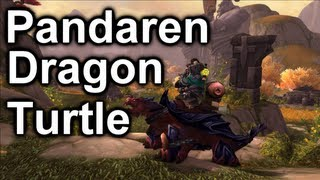 Pandaren Dragon Turtle Mounts | World of Warcraft: Mists of Pandaria