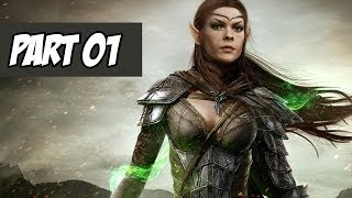 The Elder Scrolls Online Walkthrough | Escape From Coldharbour | Part 1 (Xbox One/PS4/PC)