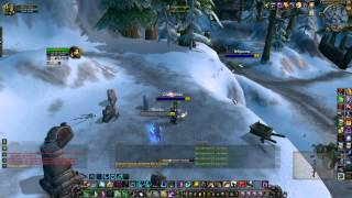 World of Warcraft: Cataclysm, 4.3.4, х1,Друид + Паладин, БГ, №4