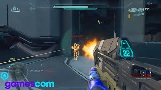 Gamescom 2015 - Halo 5 Post Beta Multiplayer RAW Gameplay (Halo 5: Guardians Multiplayer Gameplay)