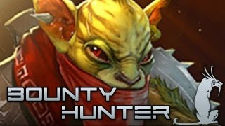 [DMX] Dota 2 Guide - Bounty Hunter (English Subtitles)