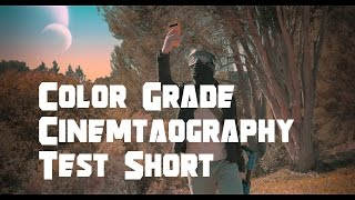 Color Grade and Cinematography Test Scene