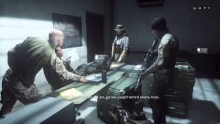 "Battlefield 4 - Tashgar:  Explore Old Town & Major Greenland Introduction Sequence ""Dam Plan"""