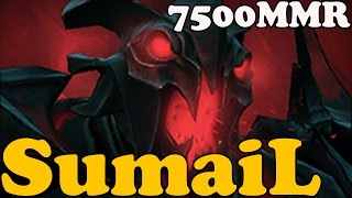 Dota 2 - SumaiL 7500 MMR Plays Shadow Fiend - Ranked Match Gameplay