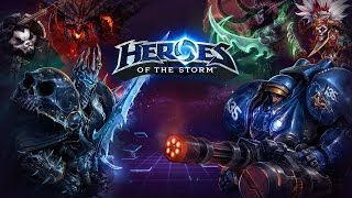 Let's play heroes of the storm на русском