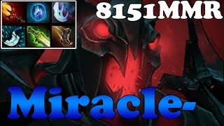 Dota 2 - Miracle- 8151MMR TOP 1 MMR in the World Plays Shadow Fiend vol 10 - Ranked Match Gameplay