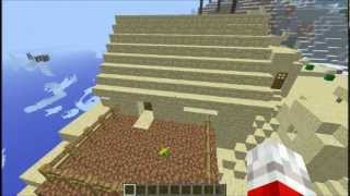 Minecraft Xbox 360 - NEW STRUCTURES (Desert Temple, Jungle Temple, Witch Hut and Wells)