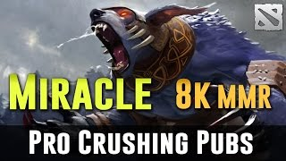 Miracle Ursa 8k MMR Gameplay Dota 2