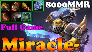 Dota 2 - Miracle- 8000 MMR Plays Alchemist - Full Game - Ranked Match Gameplay
