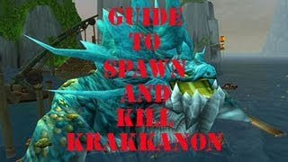 World of Warcraft| Fishing Event and boss - Krakkanon