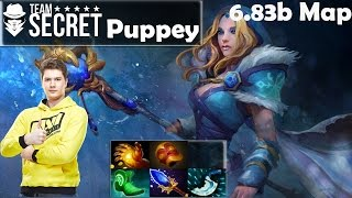 Puppey - Crystal Maiden Pro Gameplay | Jungling | vs Zai Earthshaker | MMR [Dota 2 Pro]