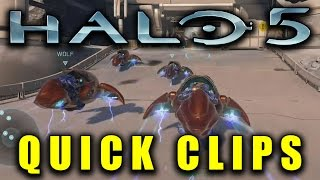 Halo 5 Quick Clips | EASY Way To Destroy The Enemy Core In Warzone!