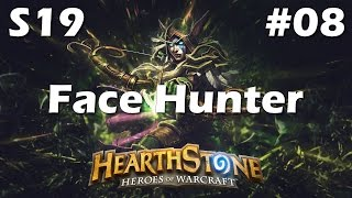 TGT Face Hunter Deck (Kolento) - Aggro Hunter Gameplay [Hearthstone Season 19 Road to Legend #8]