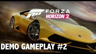 Forza Horizon 2 Demo Gameplay #2 (Impressions Xbox One 1080p HD)