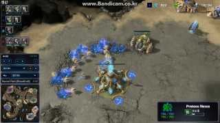 SC2BW - 2vs2 Teamplay in (4)Sacred Path
