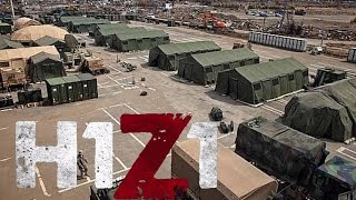 H1Z1 - HUGE new military camp (weapon lockers inside)