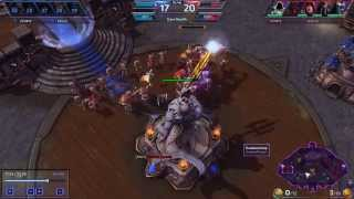 Heroes of the Storm - Blackheart's Bay - Zagara 5 Man Maw
