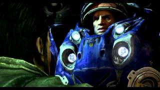 Starcraft II  , Ship talking, Ultra graphics, High definition, HD!!