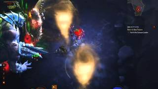 Diablo 3: Scoundrel and Witch Doctor in Realm of Turmoil (Act 1, MP 10)