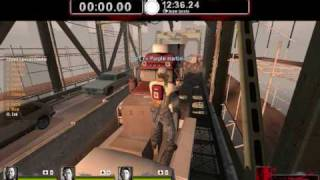 L4D2 - Ellis Vs 20 Tanks