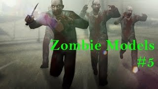 Counter Strike 1.6. : Zombie Skins (Models)   2015 + Download Link
