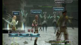 Final Fantasy XIII English Version Gameplay (PS3)