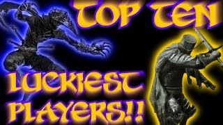Dark Souls 2 - Top Ten Luckiest Players! (11)