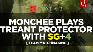 Dota 2 Monchee Plays Treant Protector with SG + 4