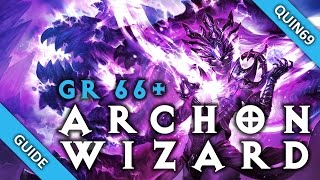 Diablo 3: GR66+ Vyr's Archon Wizard build (Patch 2.3)