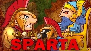 Glory of SPARTA  обзор игры на android