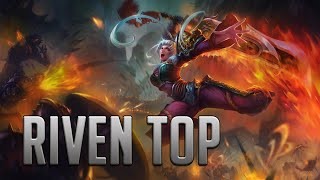 League of Legends - Dragonblade Riven Top - Full Game Commentary