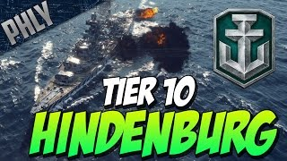 EPIC GUNS! & SCREW AIRCRAFT CARRIERS! (World Of Warships Hindenburg Gameplay)