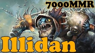 Dota 2 - Illidan 7000 MMR Plays Slark vol 2# - Ranked Match Gameplay