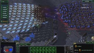 100 Scouts vs 100 Devourer | StarCraft 2