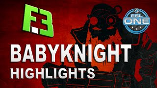 Dota 2 | BabyKnight Sniper | FlipSid3 vs HR Highlights ESL One