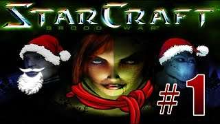 Прохождение StarCraft: Brood War - Protoss Campaign Gameplay Mission #1 - Escape From Auir