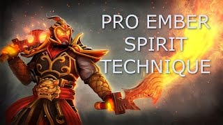 Dota 2 Tips and Tricks: Pro Ember Spirit Technique (Extend Reach of Remnant)