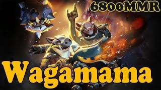 Dota 2 - Wagamama 6800 MMR Plays Techies vol 9# - Gameplay