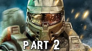 Halo 5 Guardians Walkthrough Gameplay Part 2 - Master Chief - Campaign Mission 2 (Xbox One)