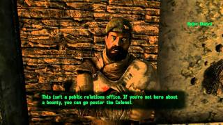 Fallout New Vegas Gameplay, Part 92. Gaining Fame with the NCR (Full Walkthrough in 1080p HD)