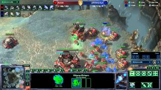 Starcraft II: Legacy of the Void - Protoss vs Terran - Bio Play!
