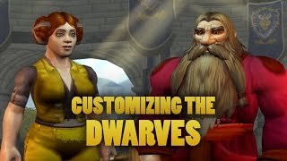 World of Warcraft: Warlords of Draenor Beta - Customizing the dwarf (male and female)