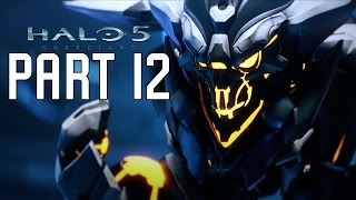 Halo 5 Guardians Walkthrough Part 12 - Mission 14 | The Breaking