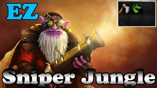Dota 2 - Sniper Jungle - 3 Stacks per minute EZ LIFE EZ MMR