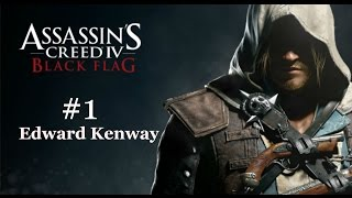 Assassin's Creed IV Black Flag.Часть 1 Эдвард Кенуэй