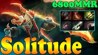 Dota 2 - Solitude 6800 MMR Plays Huskar Vol 1 - Ranked Match Gameplay!