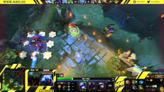 NaVi Dendi plays Night Stalker   Commentary