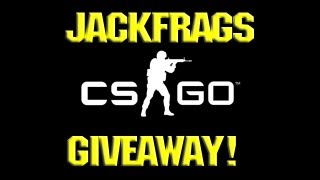 Counter Strike Global Offensive Gameplay - CSGO BETA KEY Giveaway - Jackfrags