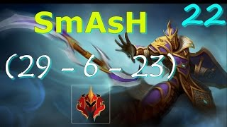 SmAsH Silencer Pro Gameplay Dota 2 | Pro Dota 2 Replays