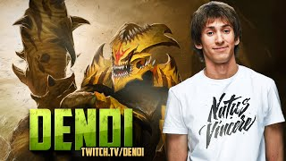 Dota 2 Stream: Na`Vi Dendi - Sand King (Gameplay & Commentary)